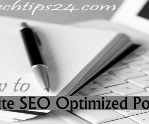 How to Write SEO Optimized Blog Post on WordPress