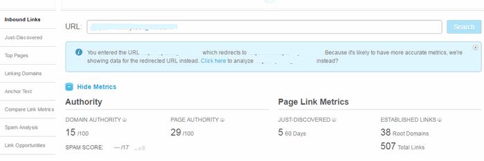 Open Site Explorer Backlink Checker Tool