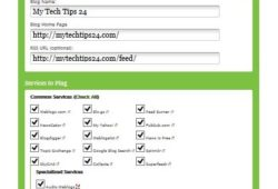 Top 35+ Ping Submission Sites for Indexing Blog Posts Faster