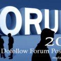 High PR Dofollow Forum Posting Sites List 2017