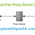 Top 100+ Best Free Proxy Server List 2017 – Proxy Sites