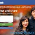 How to Change Facebook Homepage Login Screen / Background