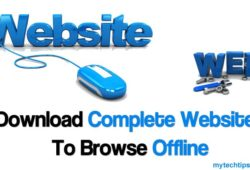 How to Download Complete Website Offline