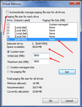 How to Use Pendrive as RAM in Windows PC