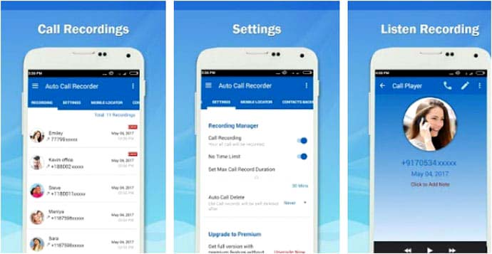 Top Popular Call Recorder App for Android