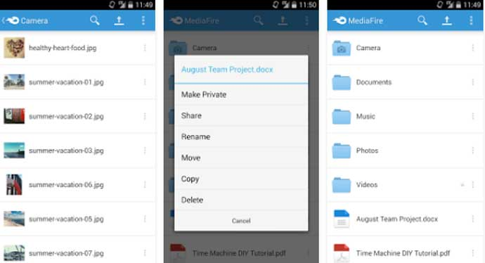 Top Best Cloud Storage App for Android Smartphone