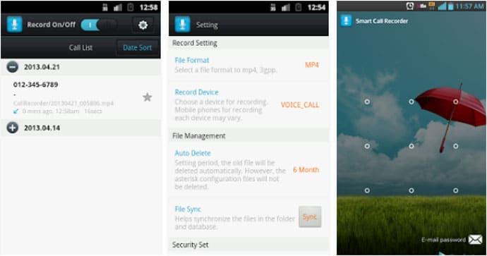 Free Call Recorder App for Android Phone to Record Calls