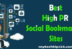 Best High PR Social Bookmarking Sites 2018 (Updated)
