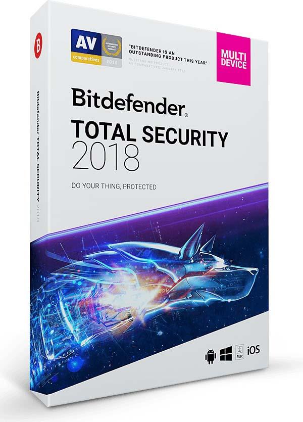 Bitdefender Total Security 2018 Free Trial 90 Days Download