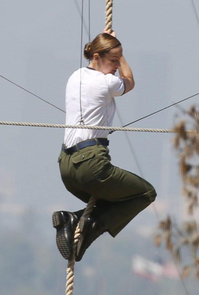 Brie Larson – Filming 'Captain Marvel' set in LA