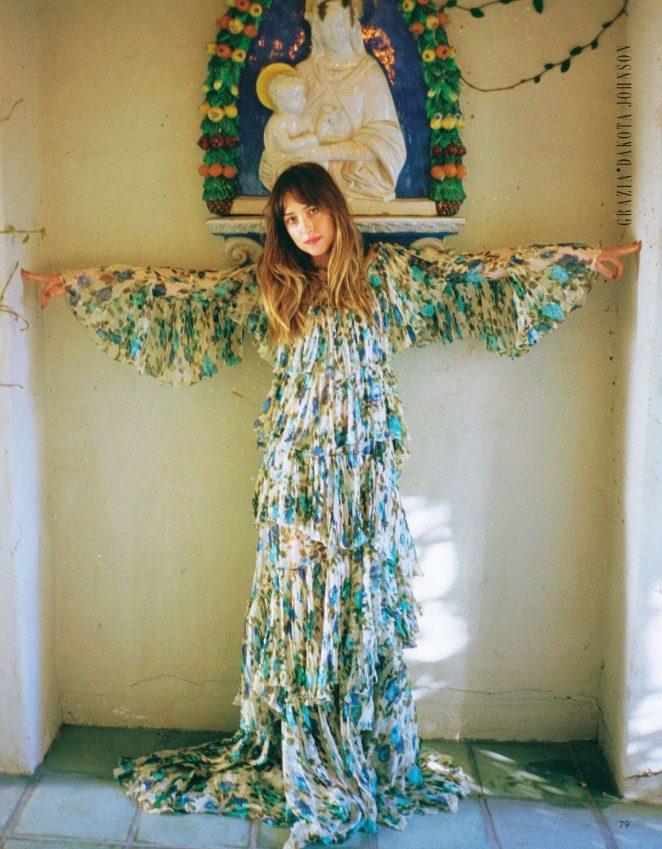 Dakota Johnson – Grazia Italy Magazine (March 2018)