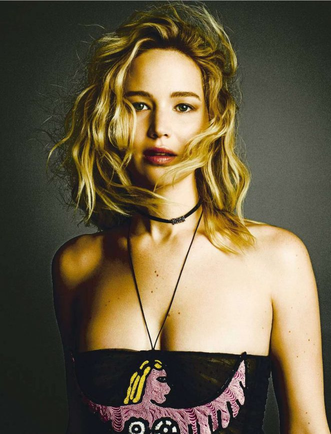 Jennifer Lawrence – Fashion Arts Spain Magazine (March 2018)