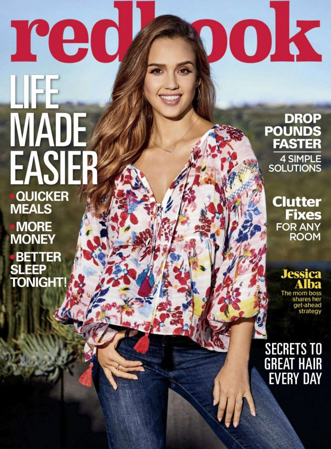 Jessica Alba – Redbook Magazine (April 2018)