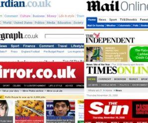 Top United Kingdom Newspaper Online for Readers