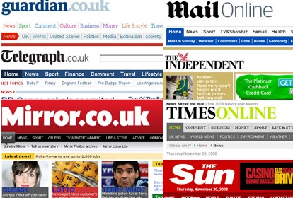 Top United Kingdom Newspaper Online for Readers