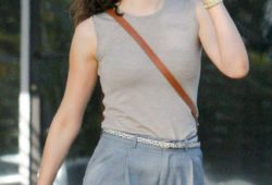 Emmy Rossum – Out and about in Los Angeles