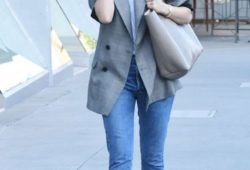 Emmy Rossum in Jeans out in Los Angeles