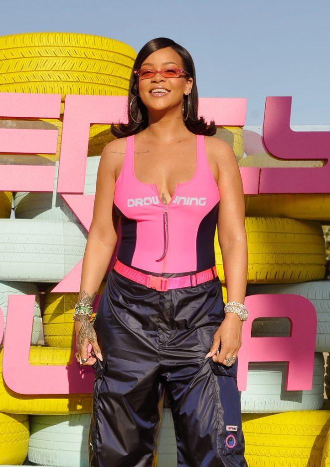 Rihanna – Fenty x Puma Coachella Party in Indio