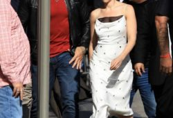 Scarlett Johansson – Arriving at Jimmy Kimmel Live! in LA