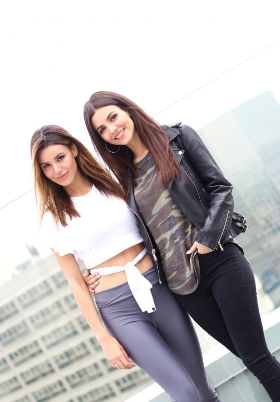 Madison Reed and Victoria Justice – iRoseXMaddyGrace Event in LA 2018