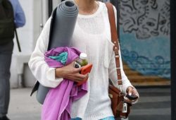 Alessandra Ambrosio – Leaving Yoga Workout in Santa Monica