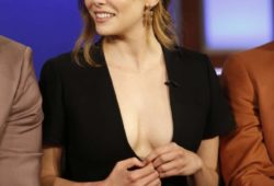 Elizabeth Olsen at Jimmy Kimmel Live! in Los Angeles