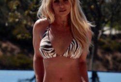 Britney Spears in Bikini – Twiiter