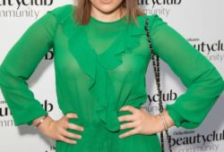 Tallia Storm – Debenham's Beauty Club Community Launch in London